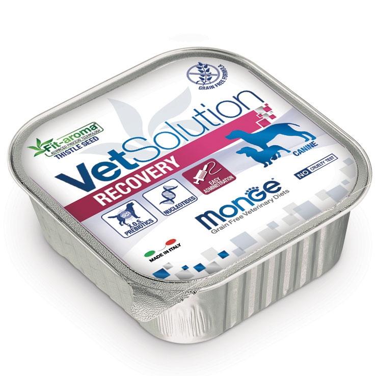 Monge - VetSolution Canine - Recovery - 150g x 24 vaschette