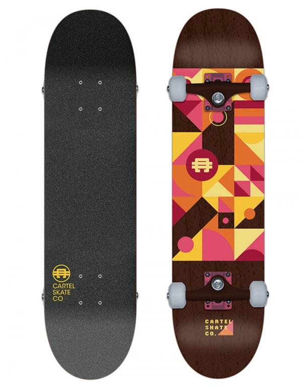 Tavola Skate Cartel completa Misterio ( Size 8 )