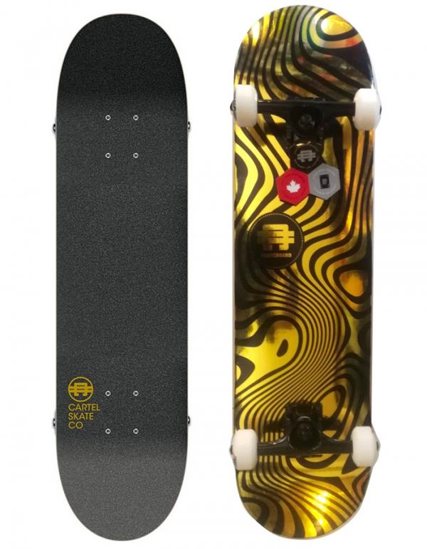 Tavola Skate Cartel completa  Shining ( Size 8 )
