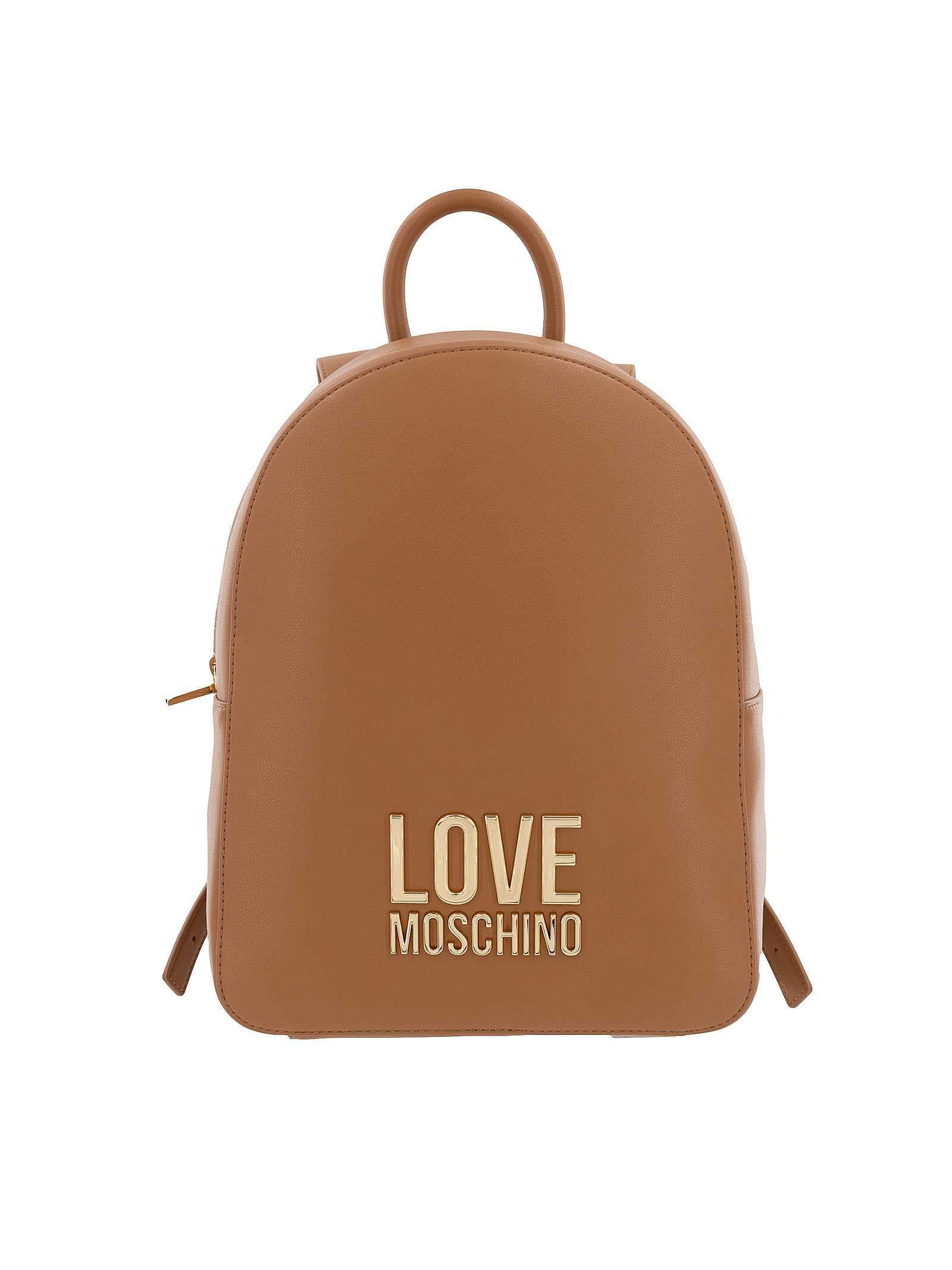 Love Moschino Borsa Zaino Donna Cammello