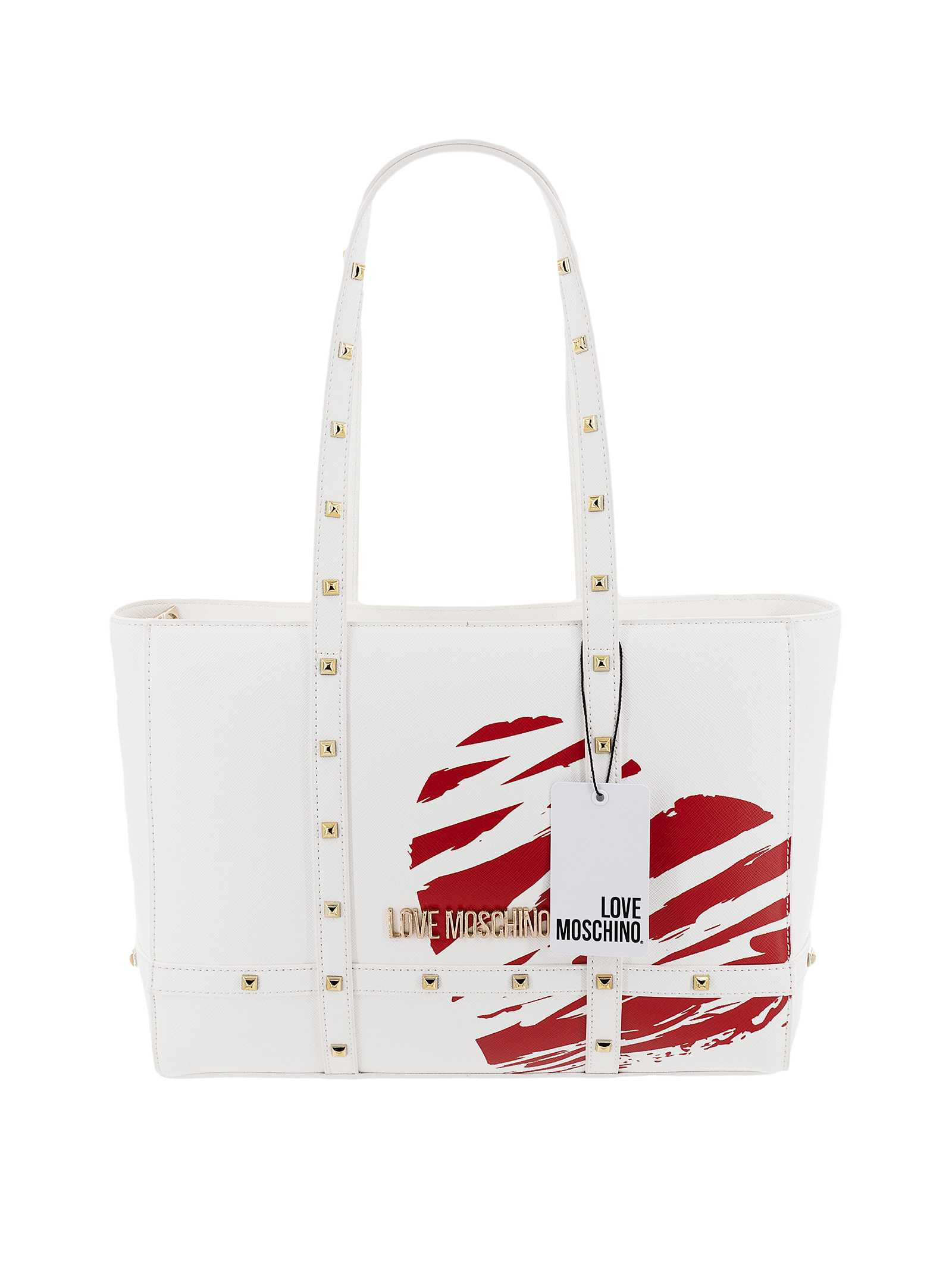 Love Moschino Borsa Shopping Donna Bianca