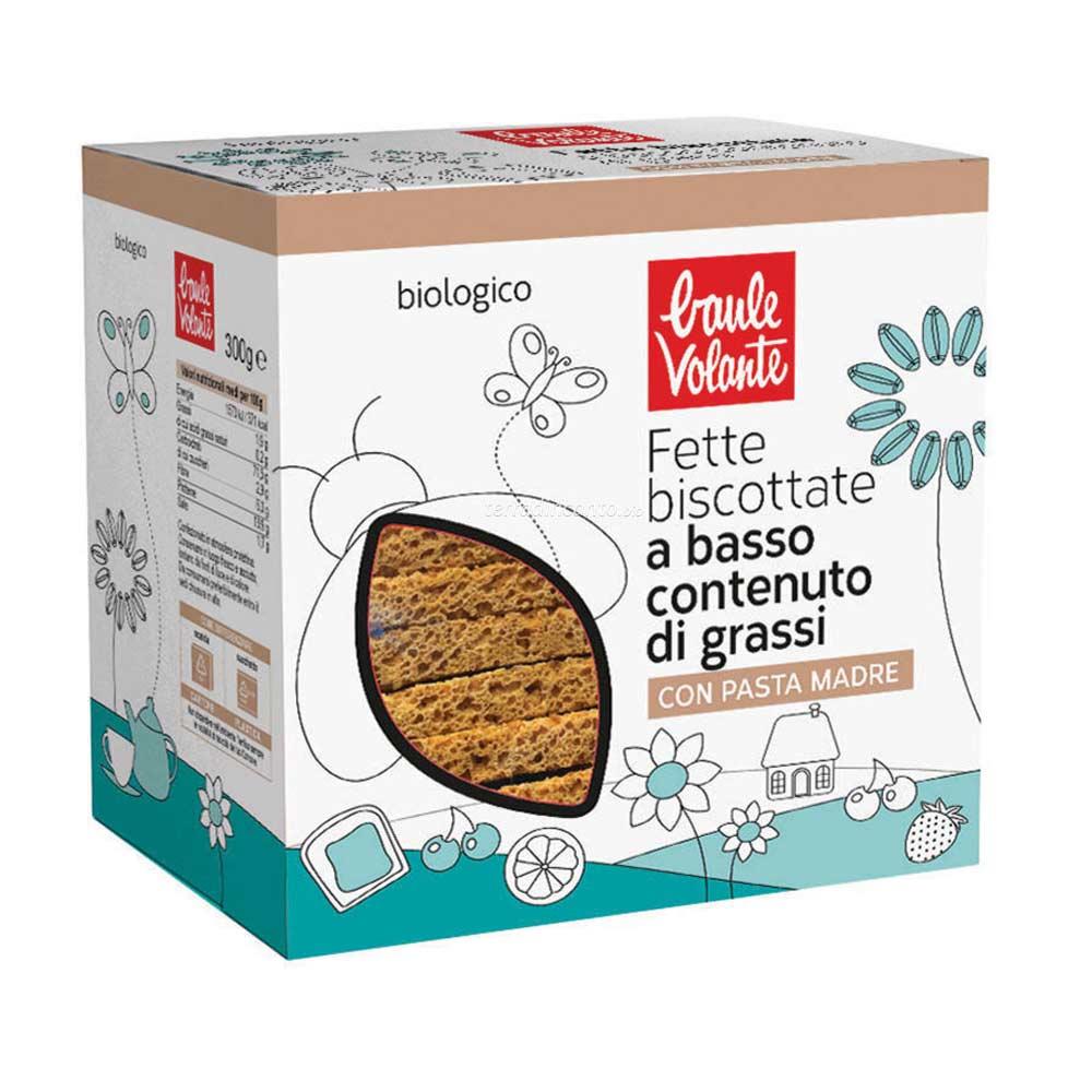 Fette biscottate a basso contenuto di grassi Baule volante