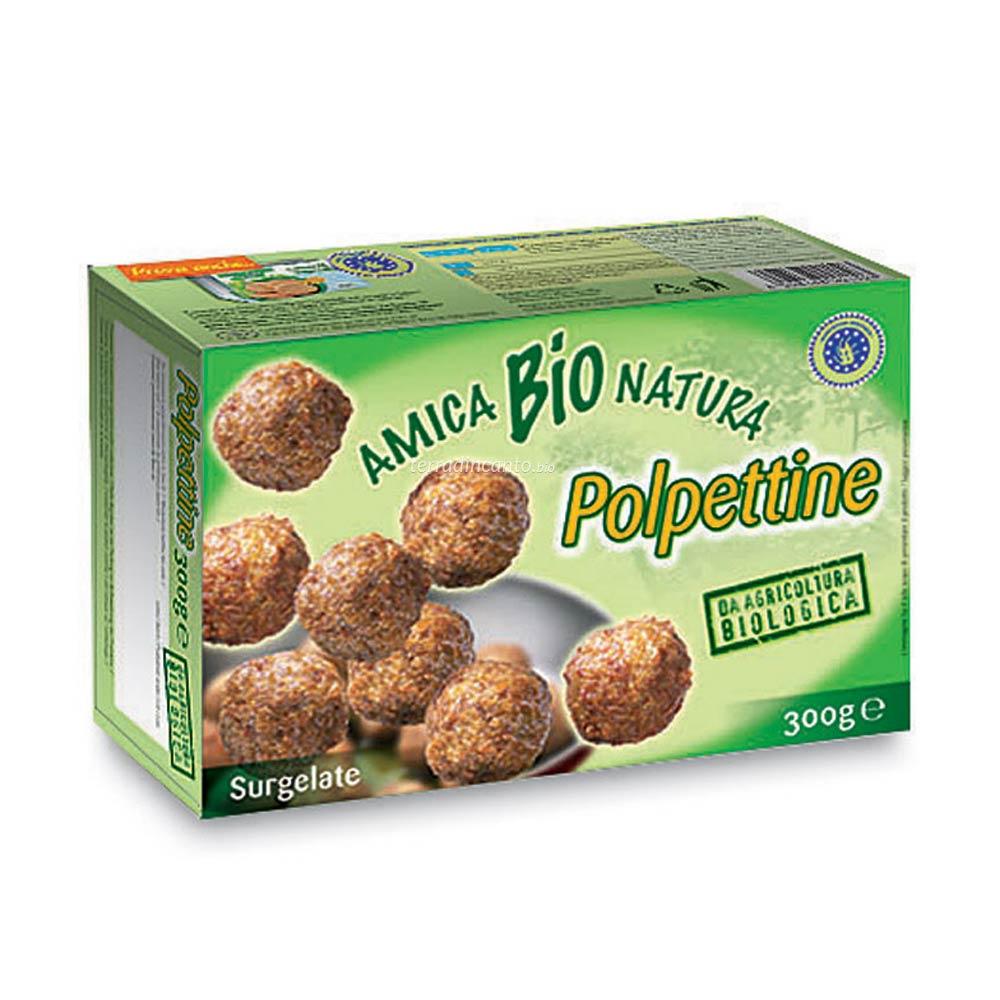 Polpettine bovino surgelate Amica bio natura
