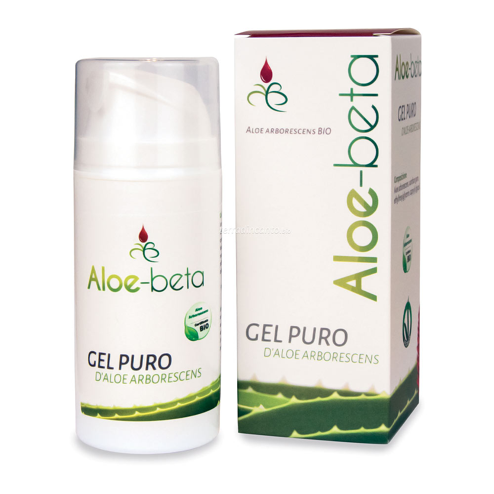 Gel puro aloe arborescens Aloe beta