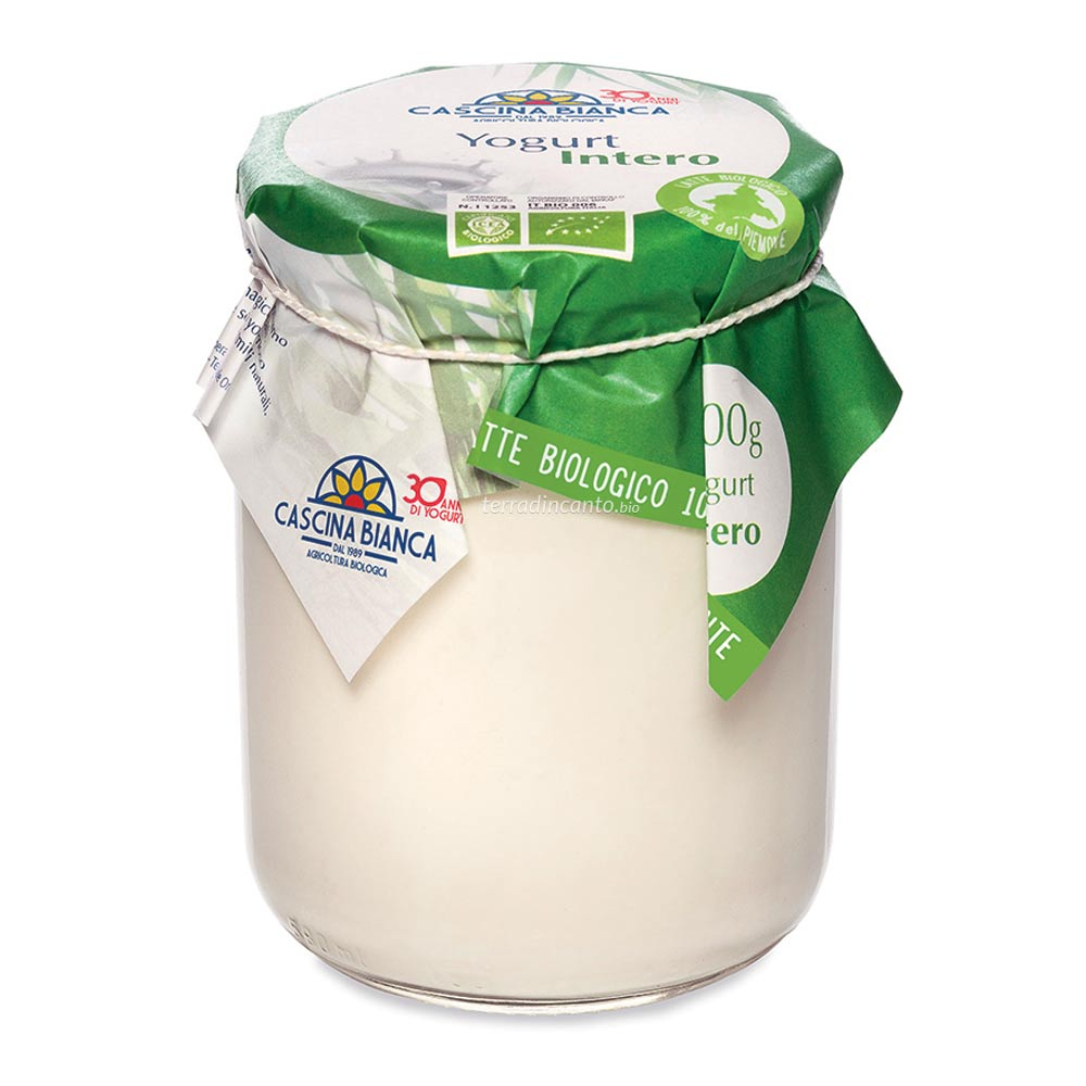 Yogurt intero naturale Cascina bianca