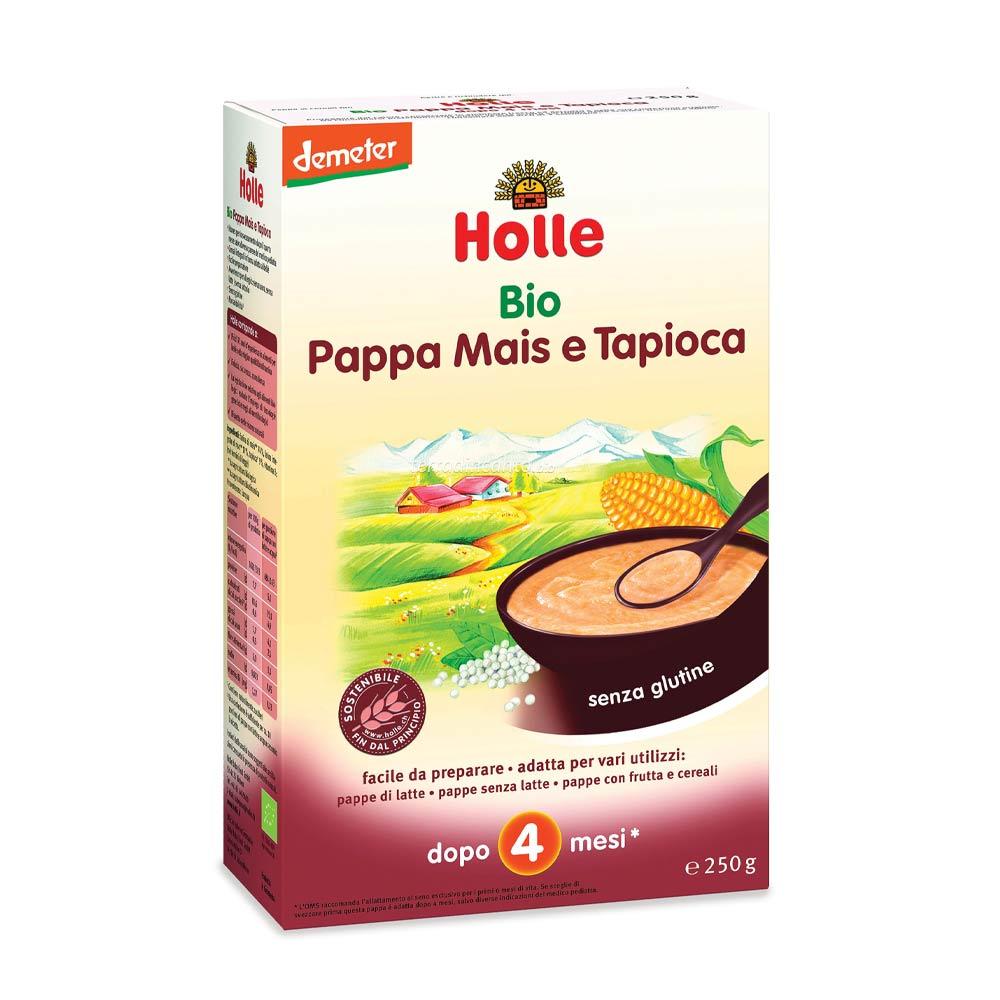 Pappa mais e tapioca Holle