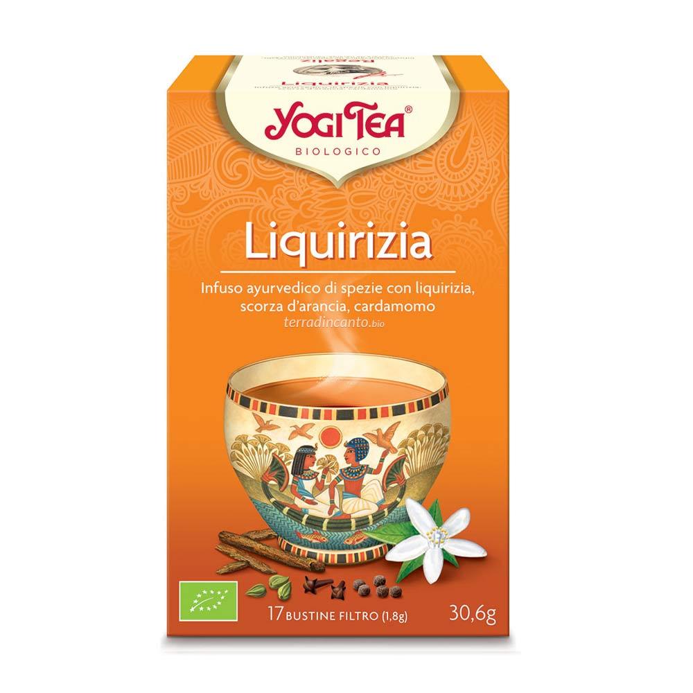 Yogi tea liquirizia Yogi tea