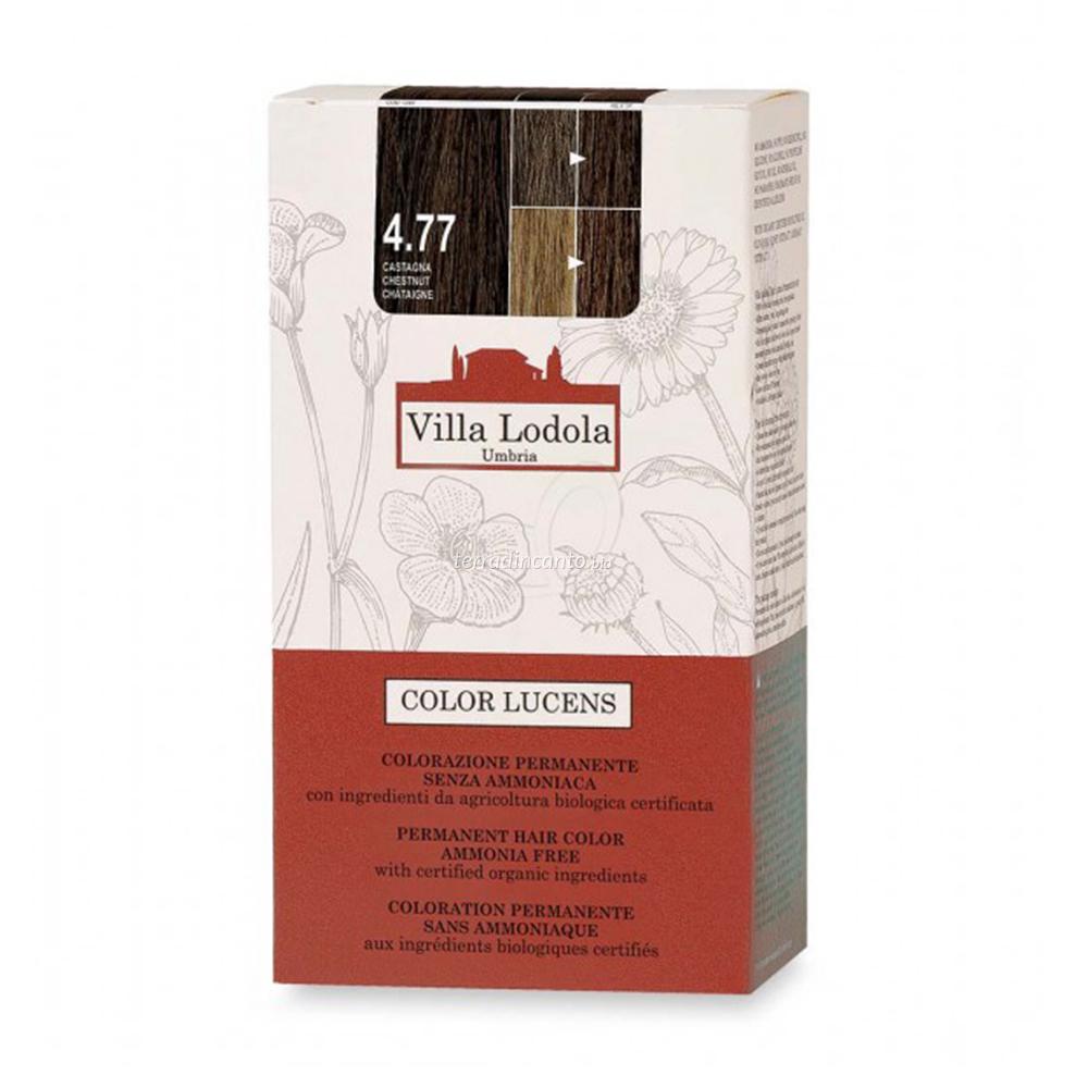 Tinta color lucens 4.77 - castagna Lucens umbria