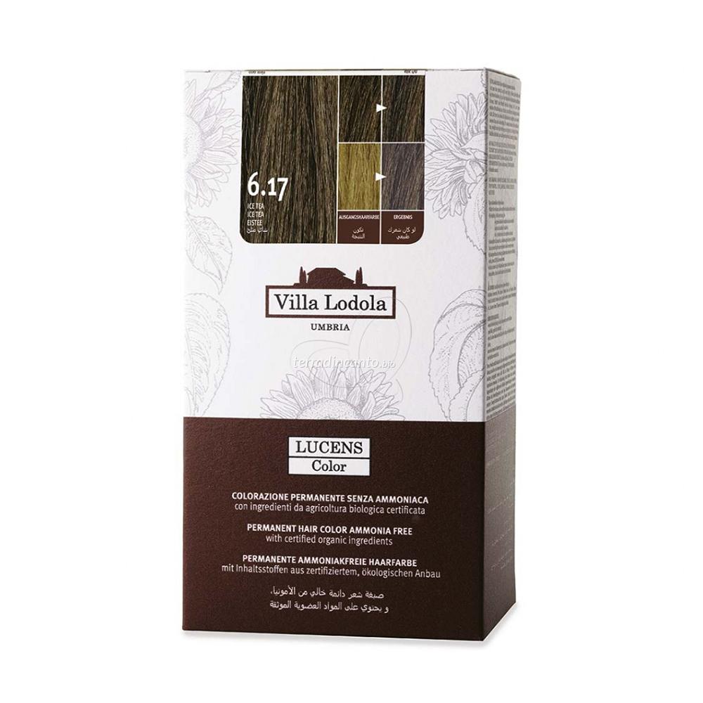 Tinta color lucens 6.17 - ice tea Lucens umbria