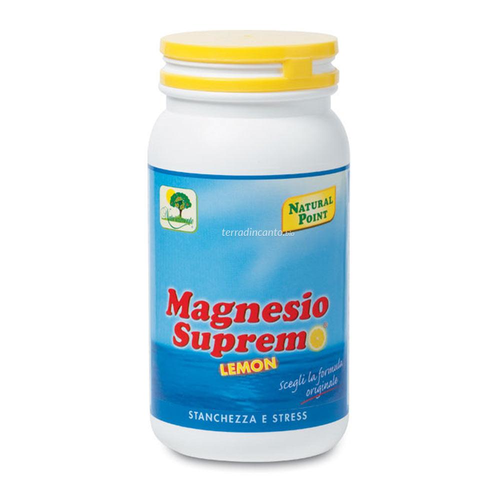 Magnesio supremo gusto limone Natural point