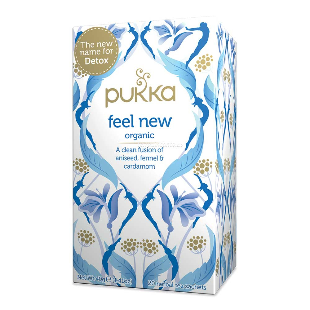 Feel new Pukka
