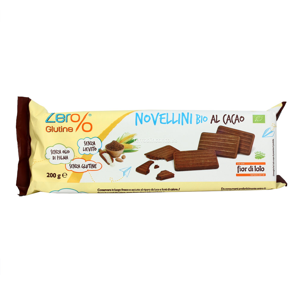 Novellini al cacao Zer%glutine