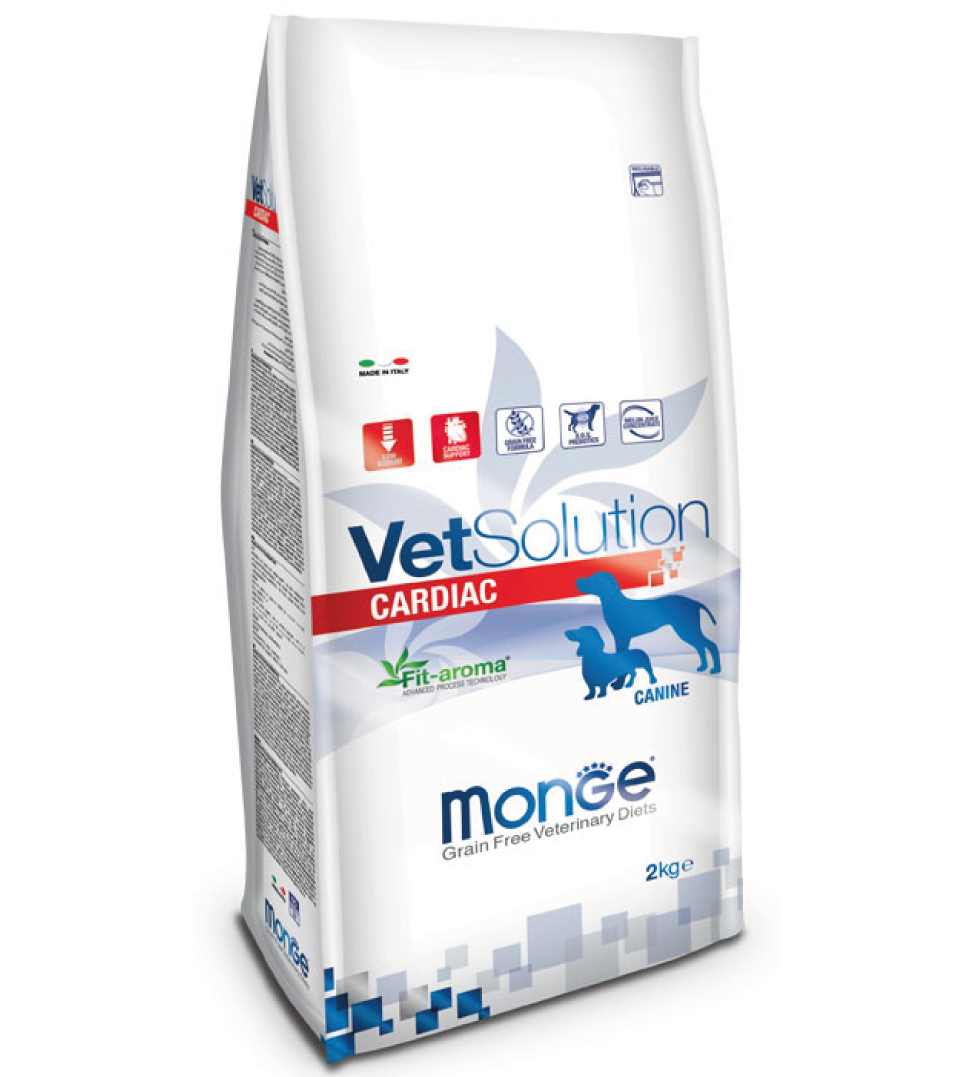 Monge - VetSolution Canine - Cardiac - 2kg