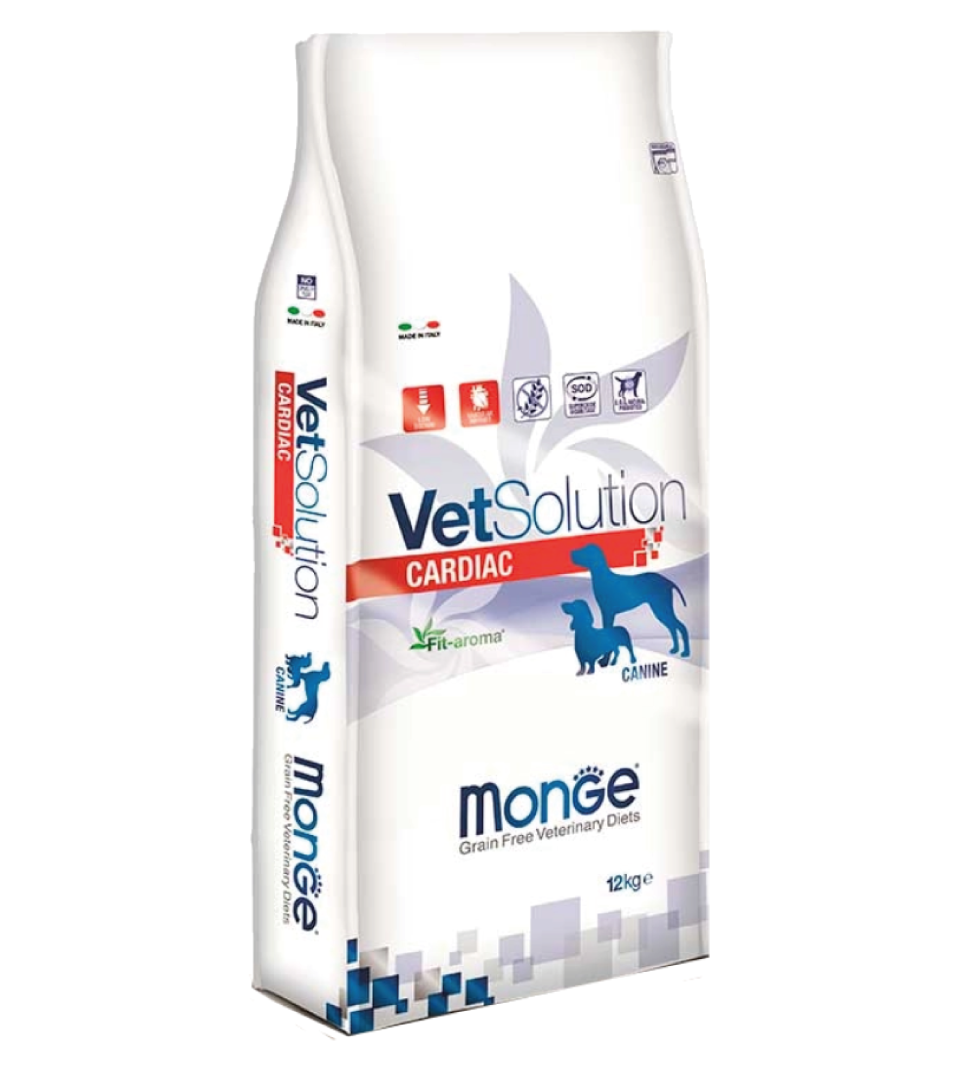 Monge - VetSolution Canine - Cardiac - 12kg