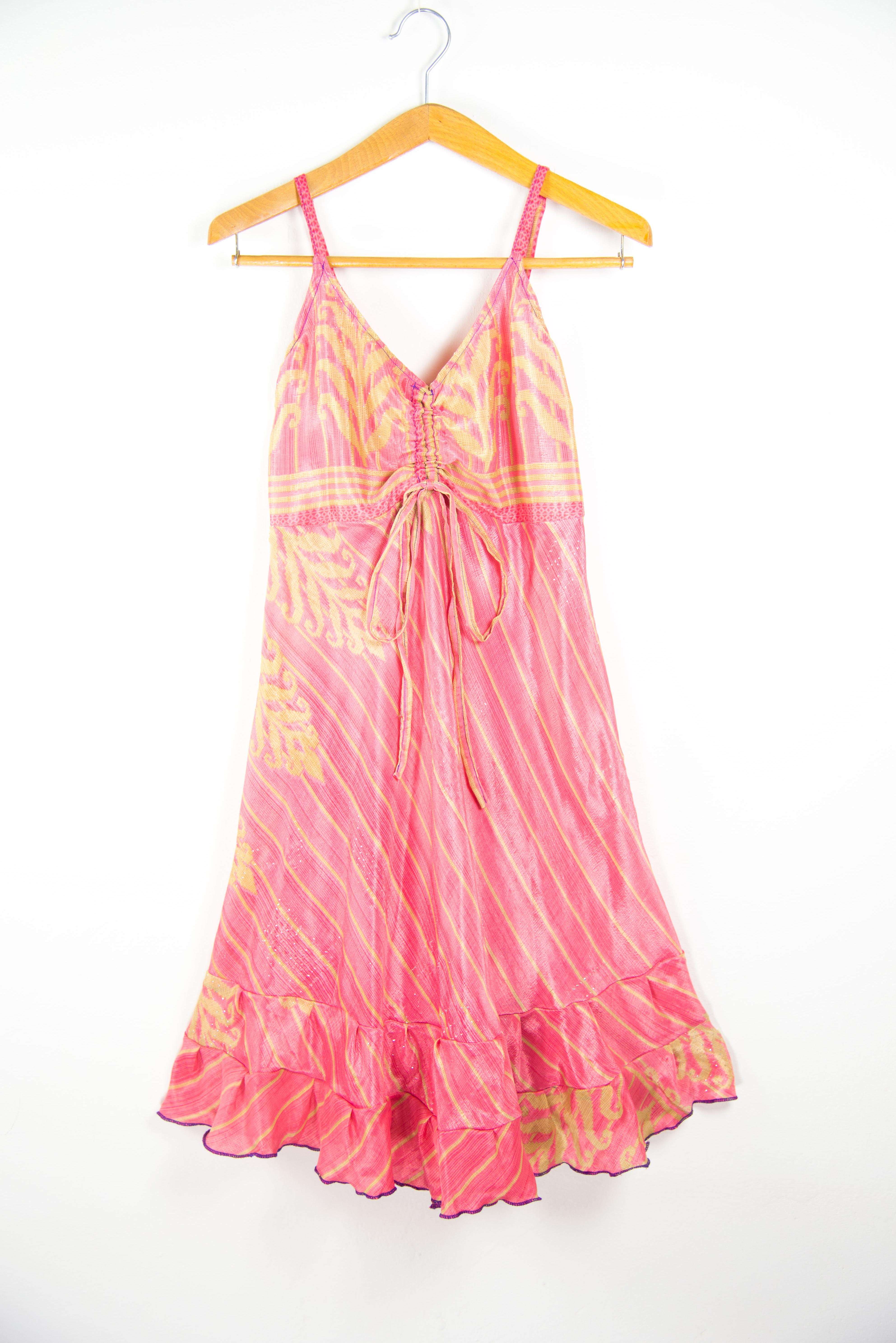Vestito corto spalline regolabili. Abbigliamento estivo online