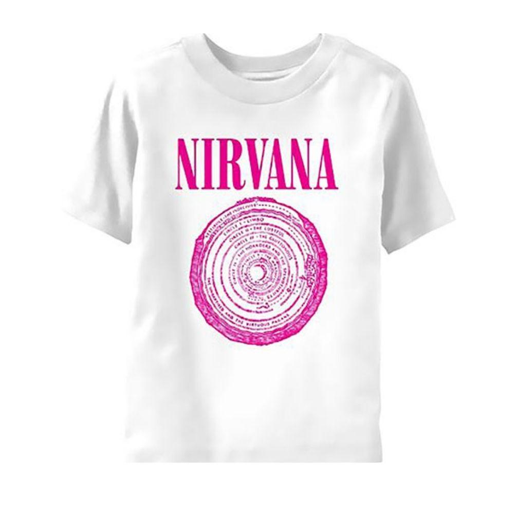 T-shirt manica corta Nirvana taglia 3/6 mesi