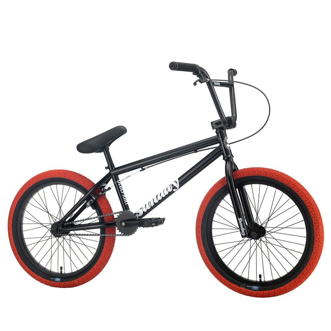 Sunday Blueprint 2021 Bici Bmx | Colore Nero/Rosso