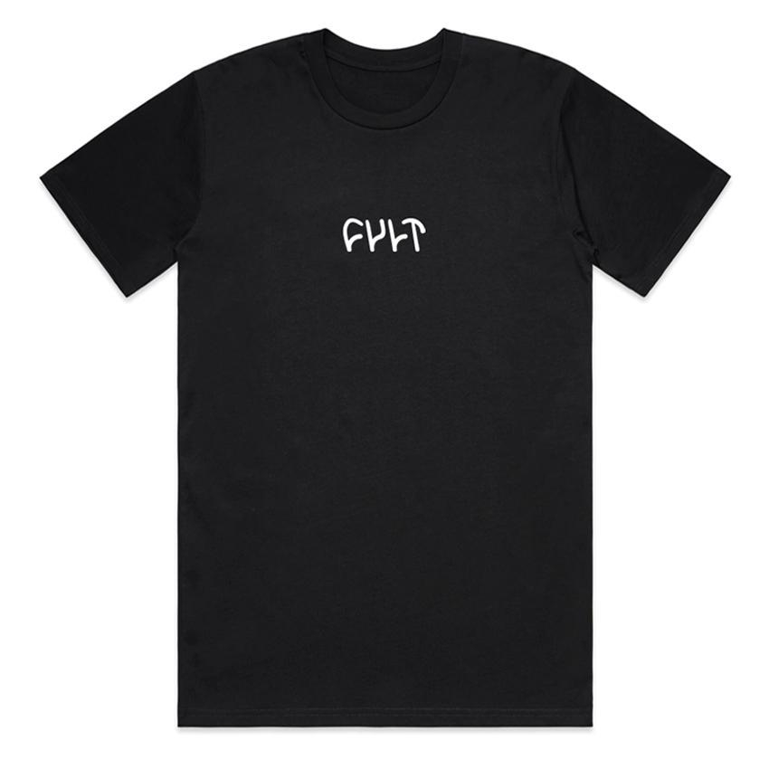 Cult Embroidered Tee T-Shirt