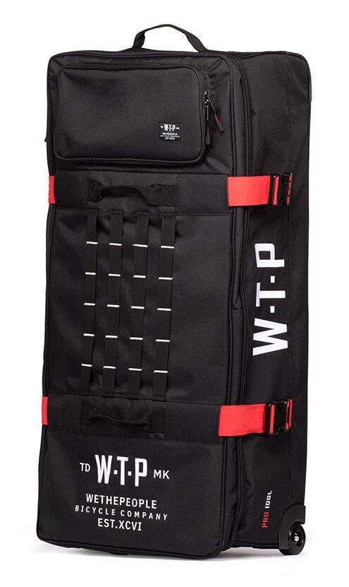 Whe The People Flyght Bag | Colore Black
