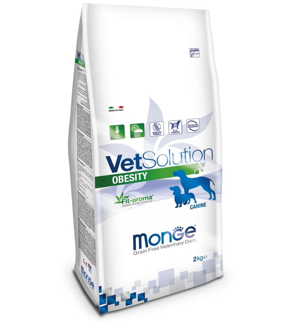 Monge - VetSolution Canine - Obesity - 2kg