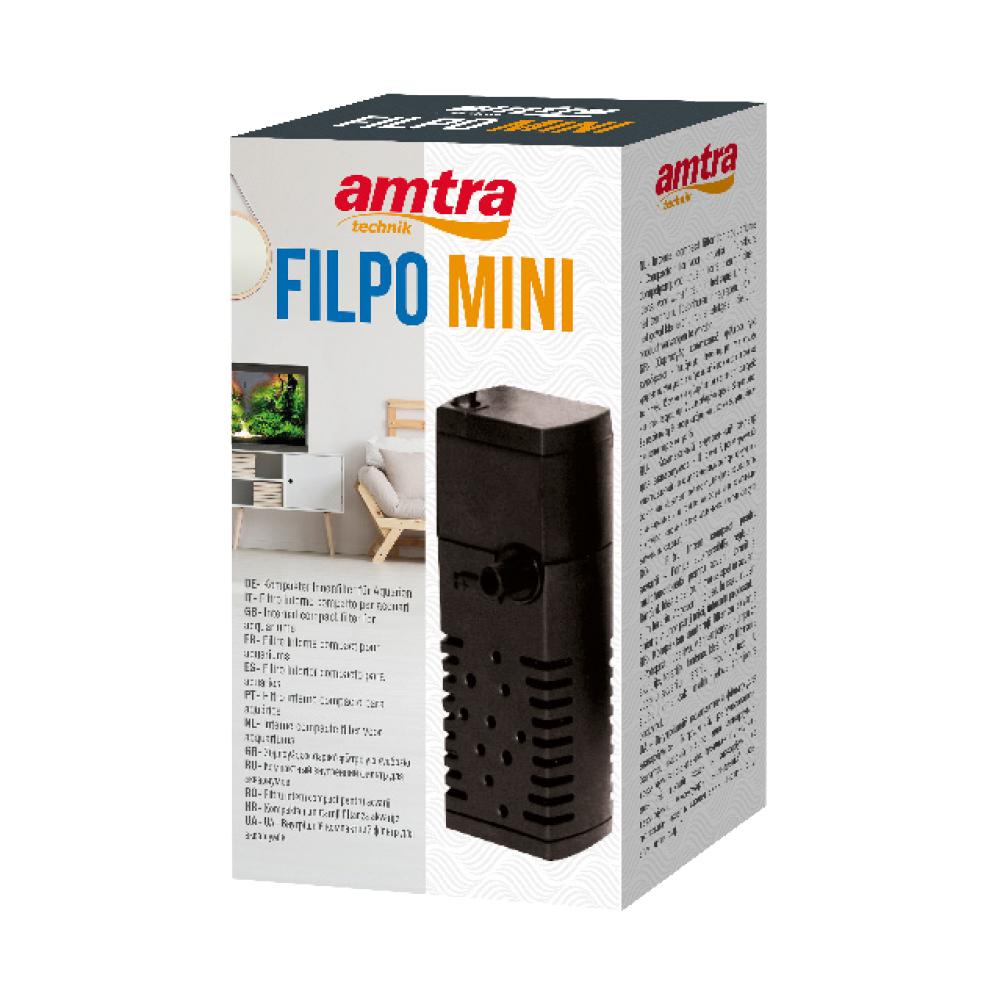 AMTRA FILPO MINI Filtro interno per acquari di piccole dimensioni