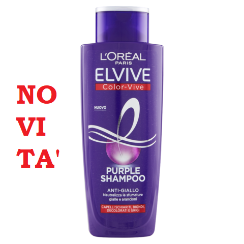 ELVIVE Shampoo purple Anti-Giallo 200 ml