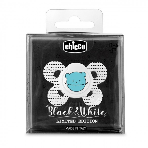 Chicco Succhietto PhysioForma  Comfort B&W Limited Edition- pianeti