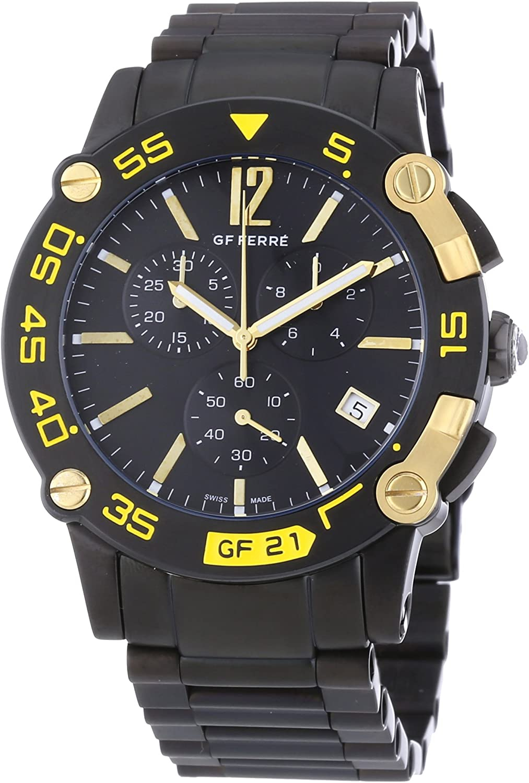 Orologio uomo GF Ferrè. Black.