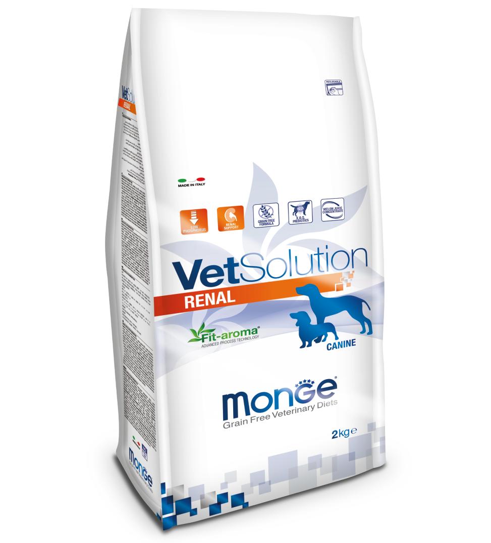 Monge - VetSolution Canine - Renal - 2kg