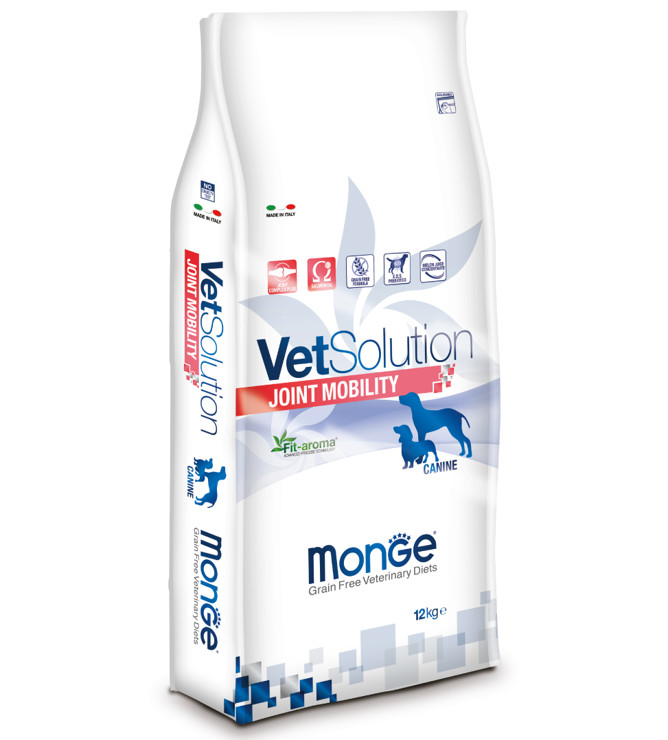 Monge - VetSolution Canine - Joint Mobility - 12kg x 2 sacchi