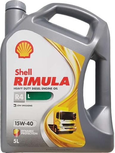 Shell Rimula R4 L 15w/40 barattolo 5 litri