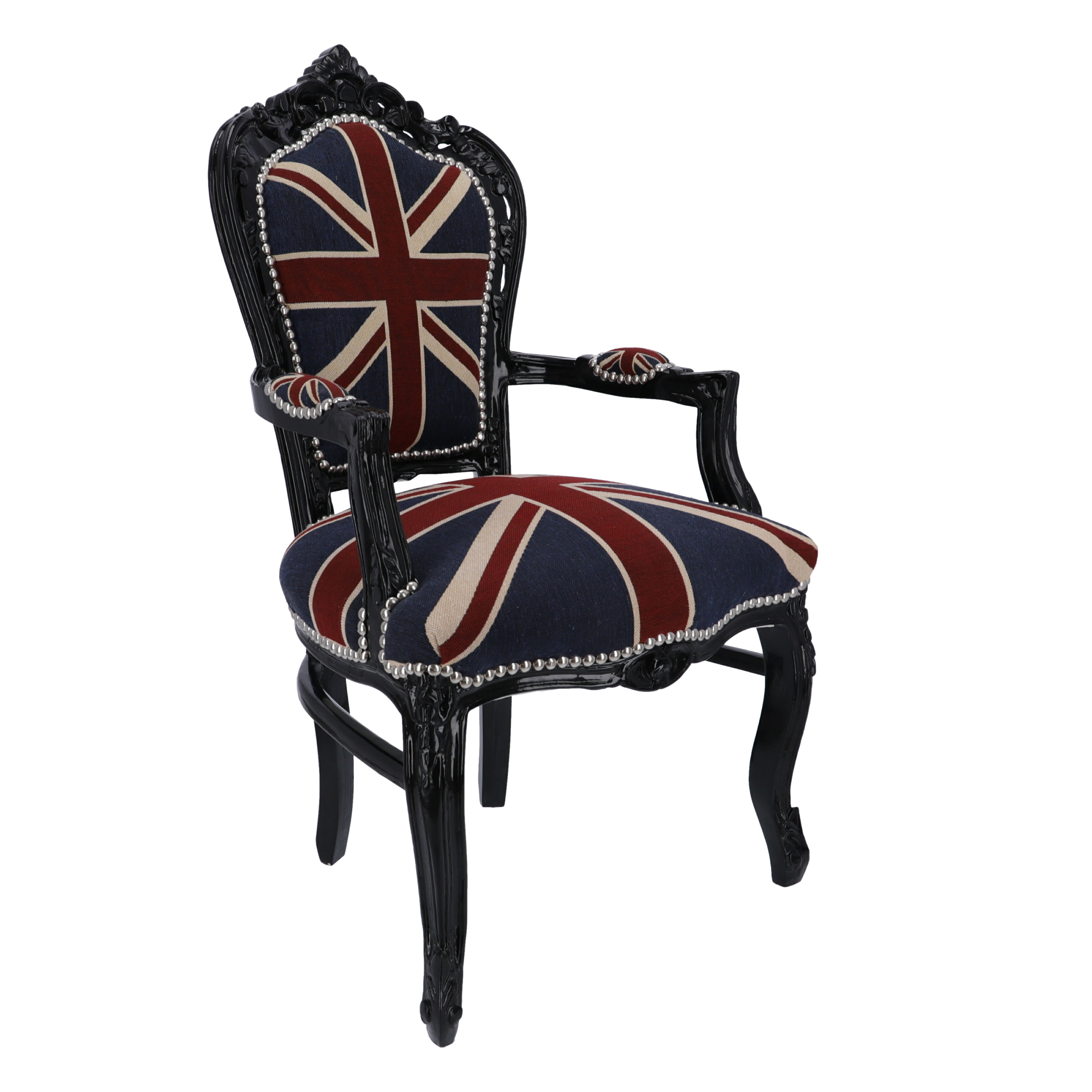 Poltrona Barocco Black UK