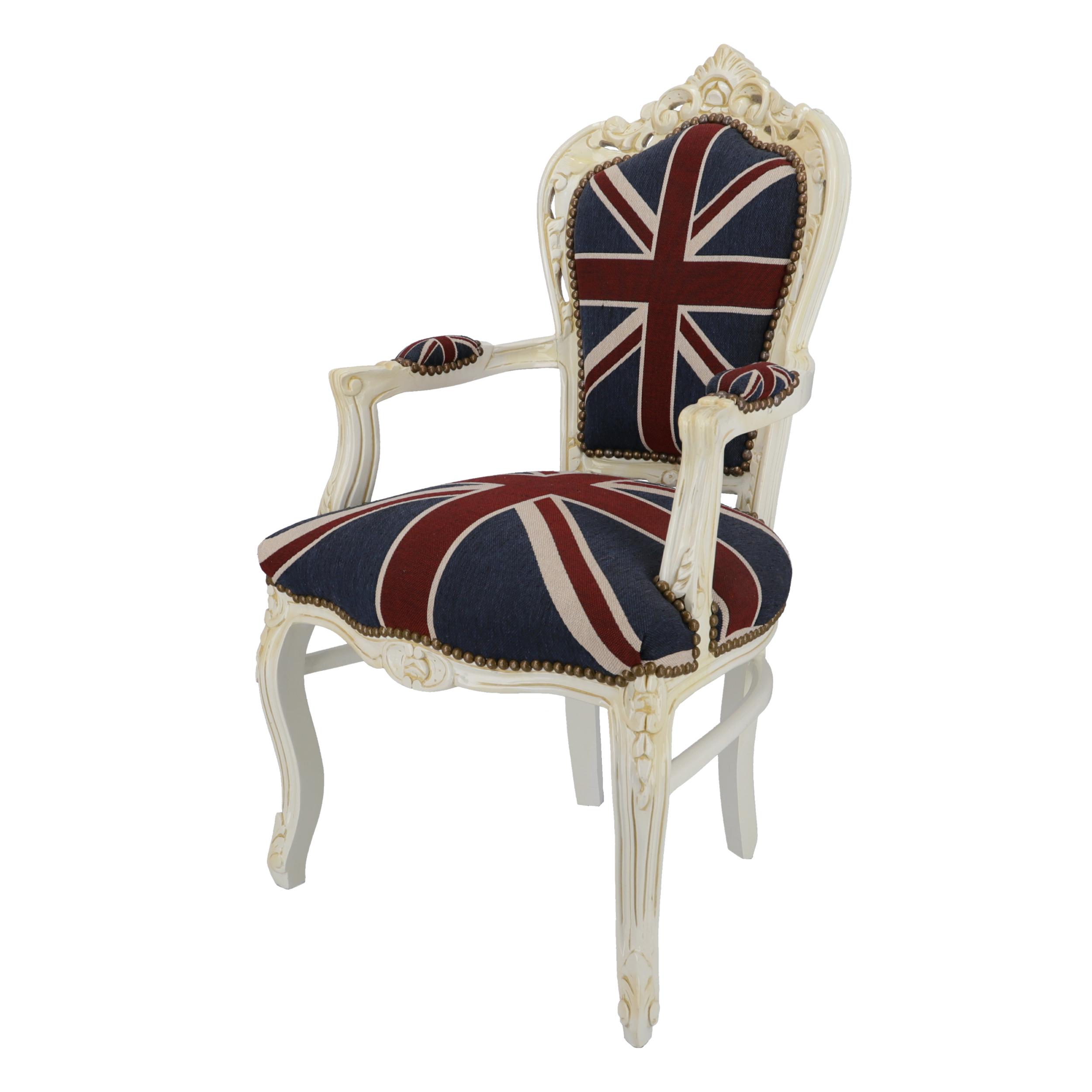 Poltrona Barocco White UK