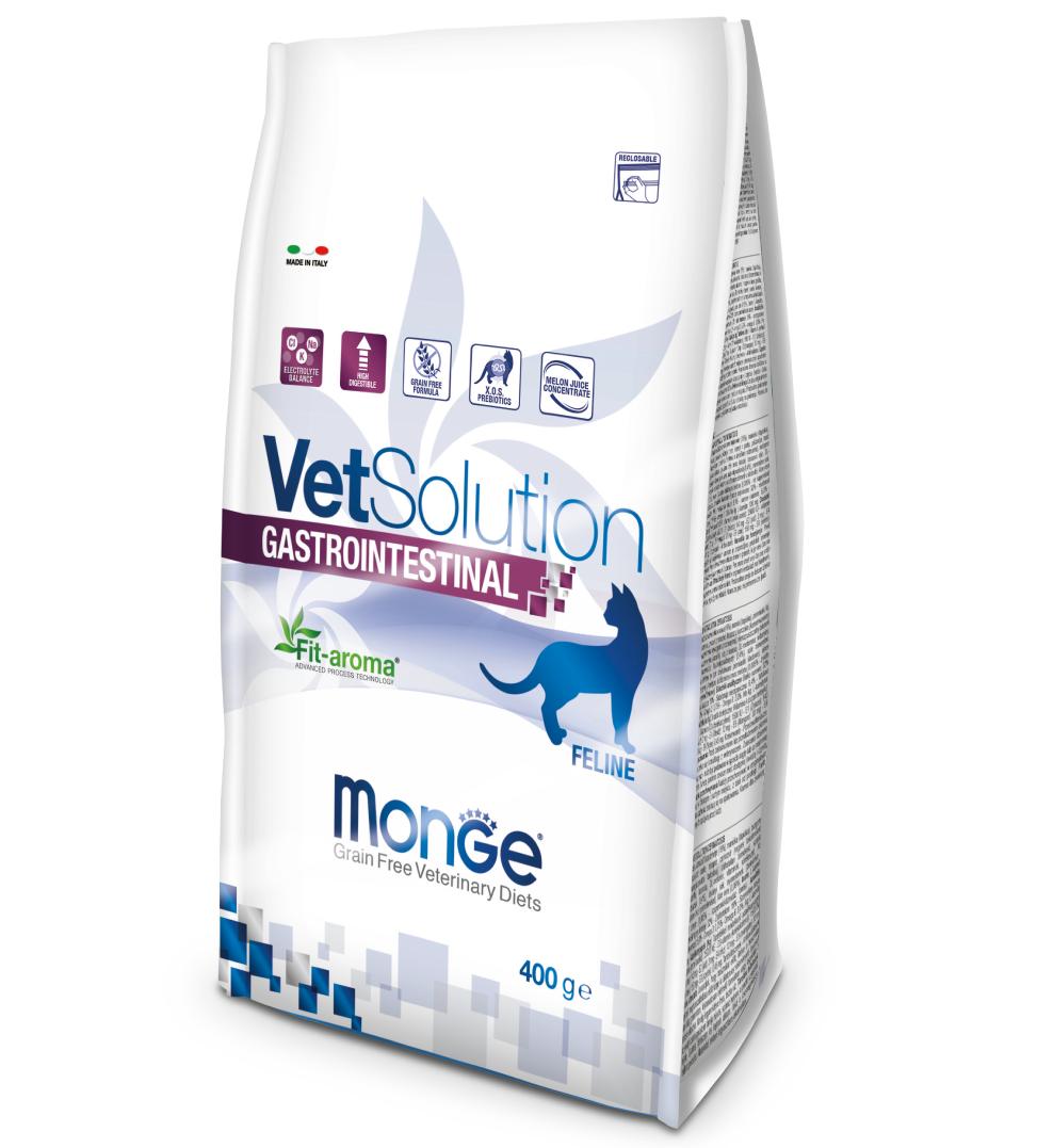 Monge - VetSolution Feline - Gastrointestinal - 400gr