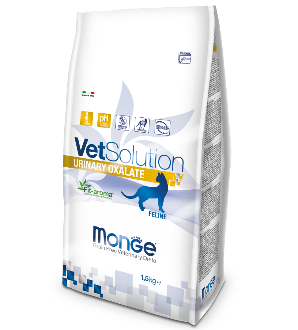 Monge - VetSolution Feline - Urinary Oxalate - 1.5kg