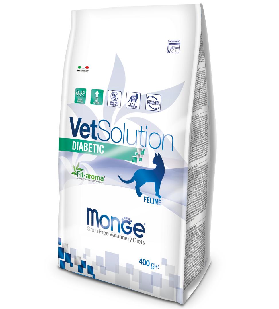Monge - VetSolution Feline - Diabetic - 400gr