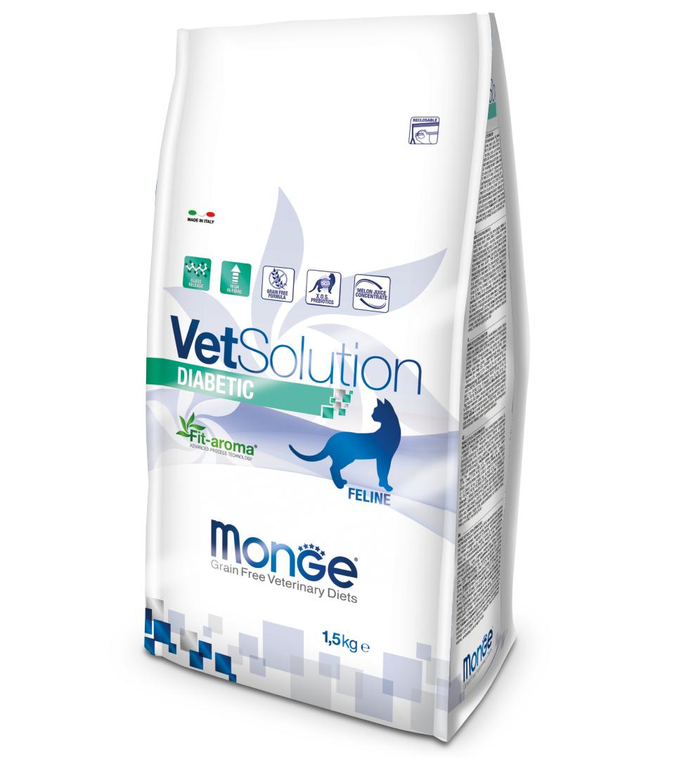 Monge - VetSolution Feline - Diabetic - 1.5kg