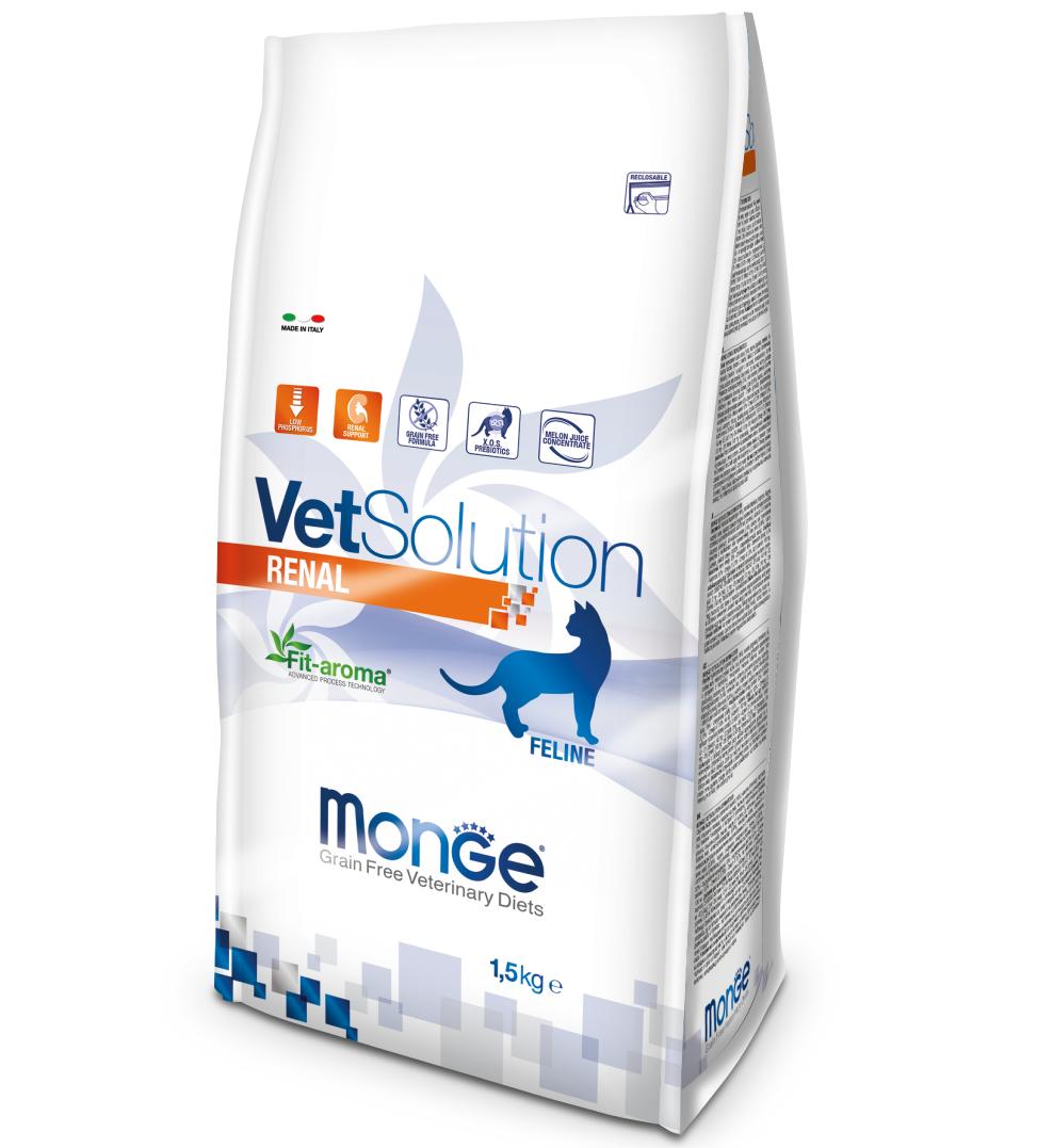 Monge - VetSolution Feline - Renal - 1.5kg