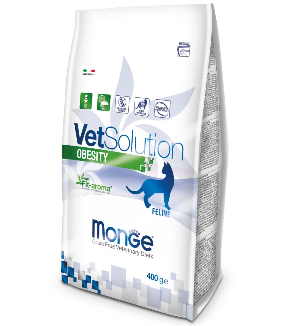 Monge - VetSolution Feline - Obesity - 400gr