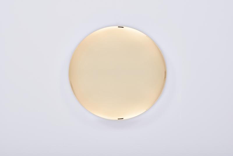 Patena dorata diametro cm. 14
