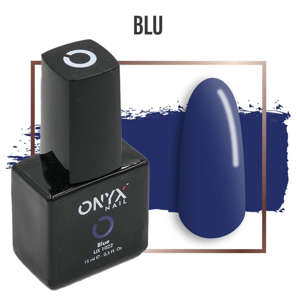 Smalto Semipermanente Gel Blue 4 in 1 Linea Unix - 15 ml