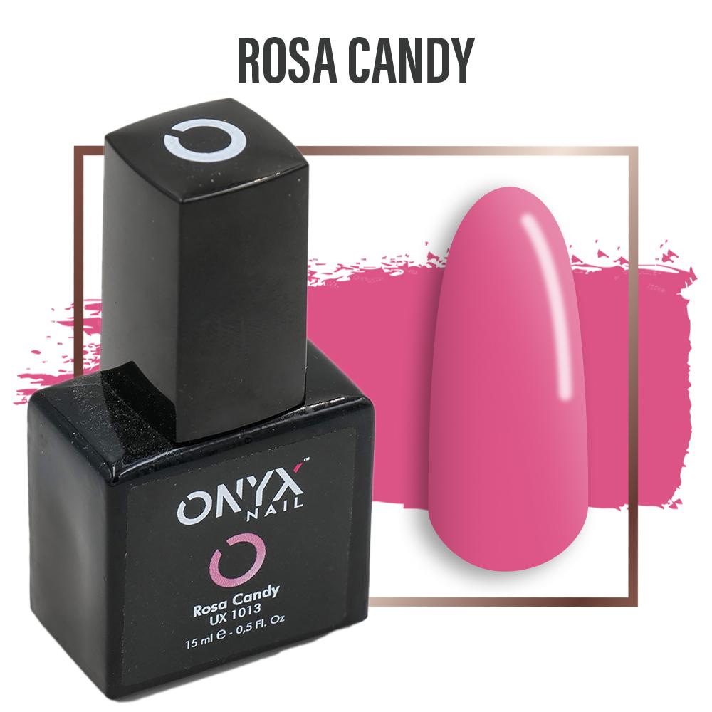 Smalto Semipermanente Gel Rosa Candy 4 in 1 Linea Unix - 15 ml