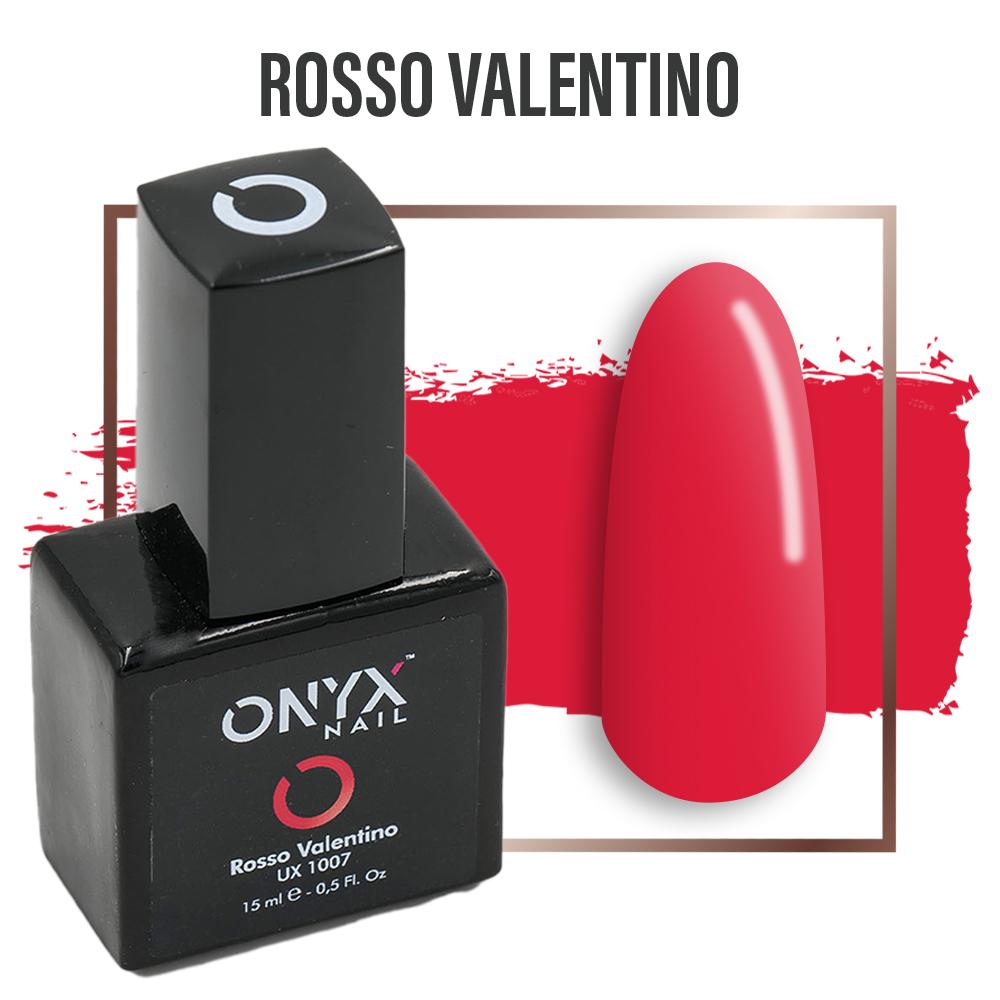Smalto Semipermanente Gel  Rosso Valentino 4 in 1 Linea Unix - 15 ml