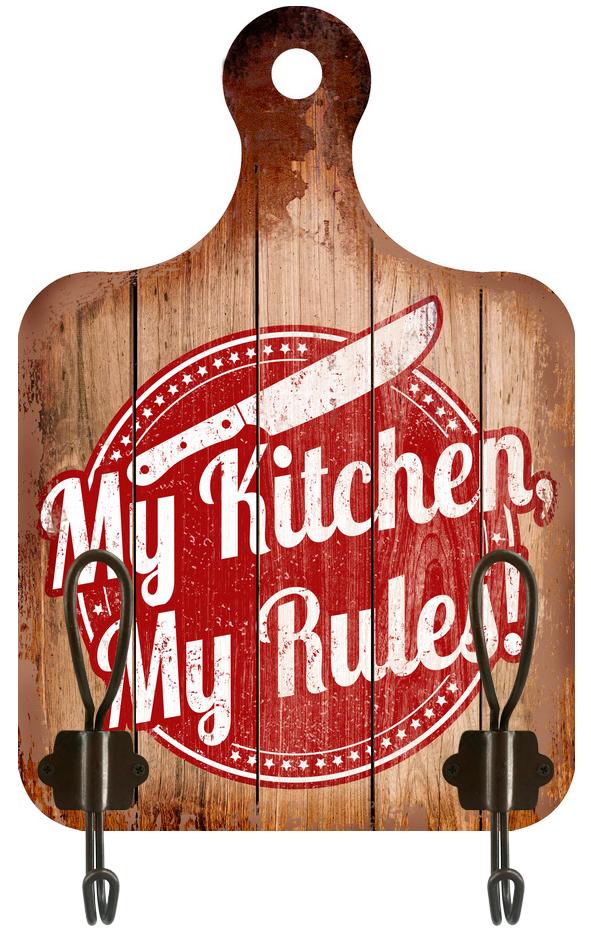 Appendino 2 ganci Kitchen Rules