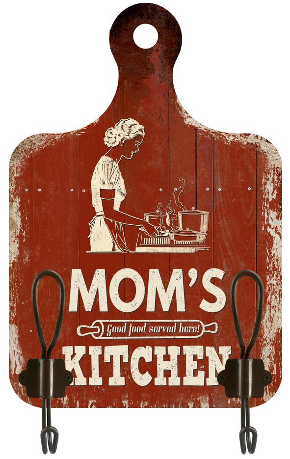 Appendino 2 ganci Mom Kitchen