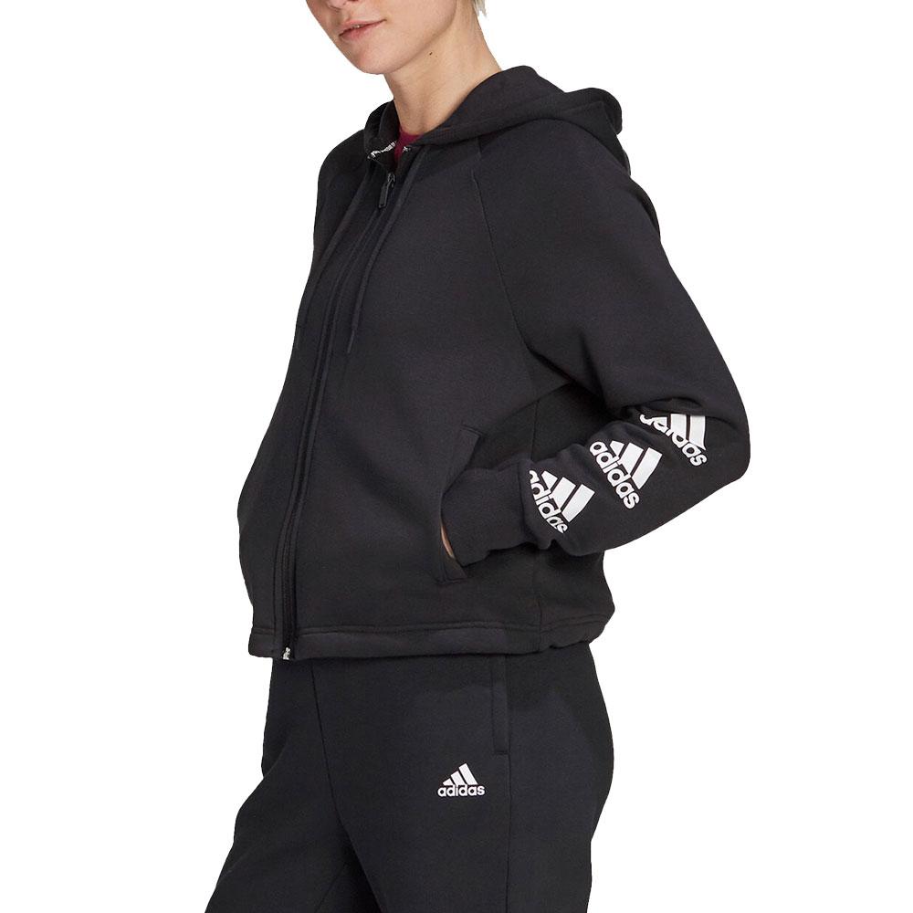 Adidas Felpa con Cappuccio da Donna