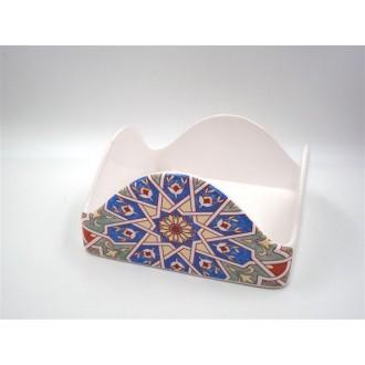 Sud Import SRL Marrakech Porta Tovaglioli Con Stampa Orientale Decorato Cucina