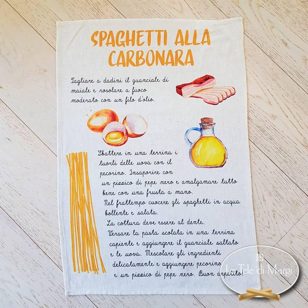 Canovaccio spaghetti alla carbonara