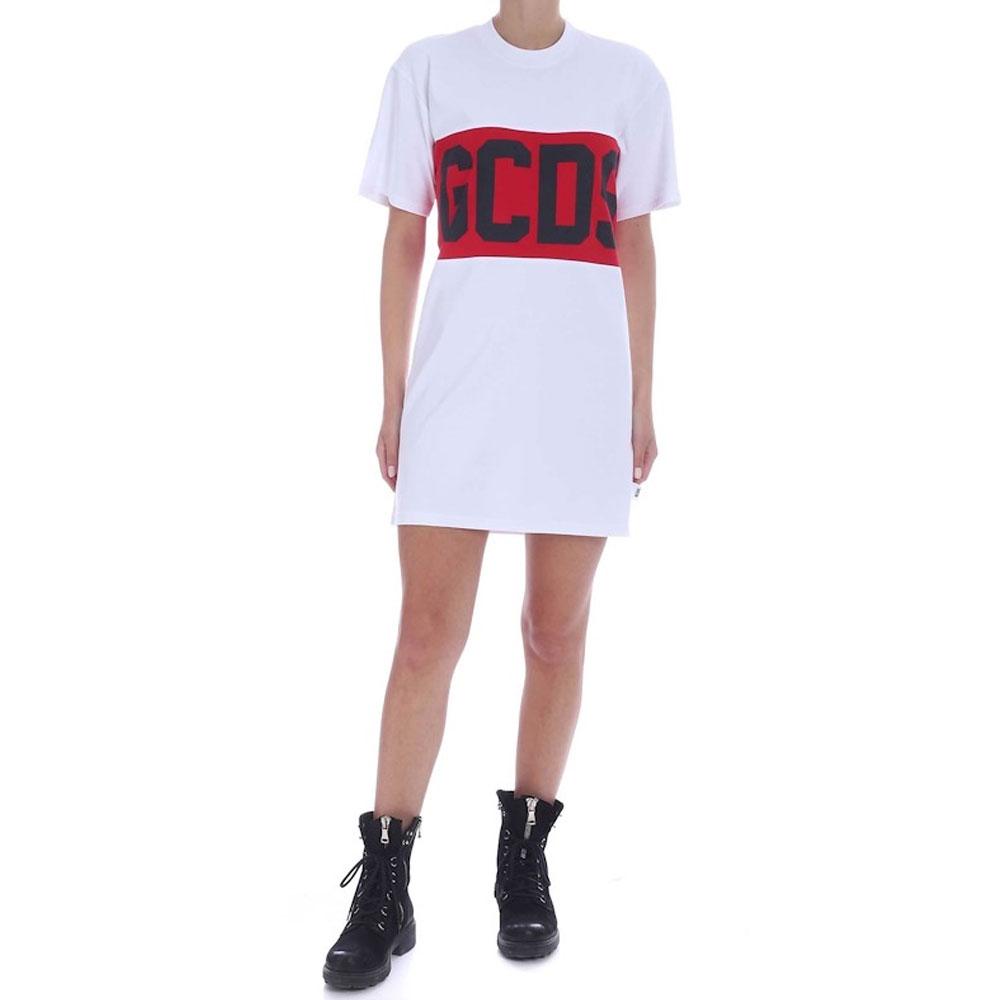 GCDS T-shirt Vestitino da Donna