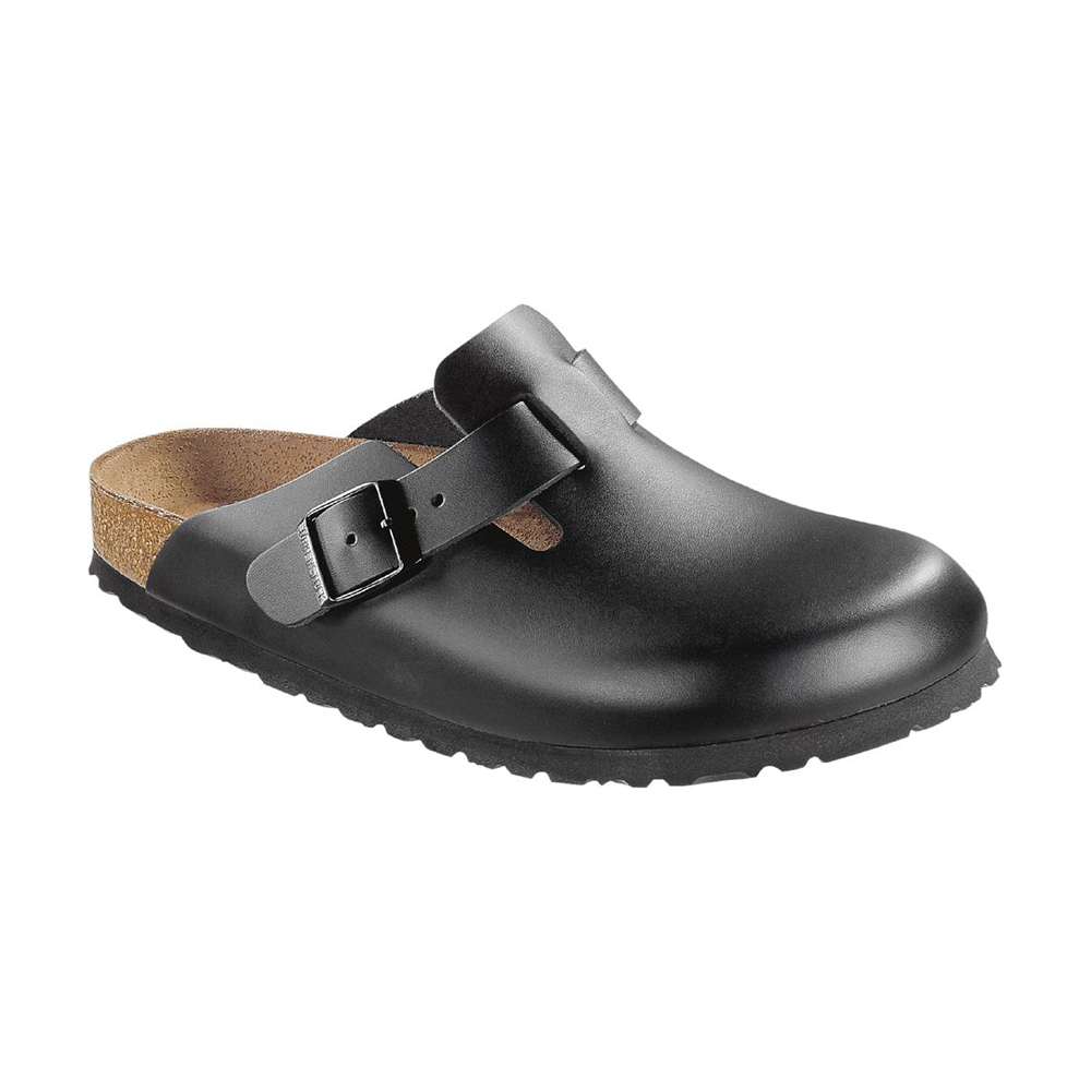 Boston Black Leather